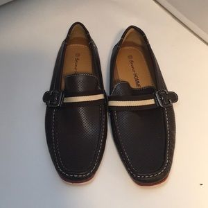 Bruno HOMME MARJOO driving moccasins Brown Sz 12